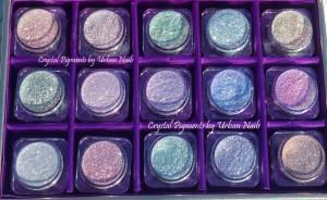 Urban Nails Crystal Pigments